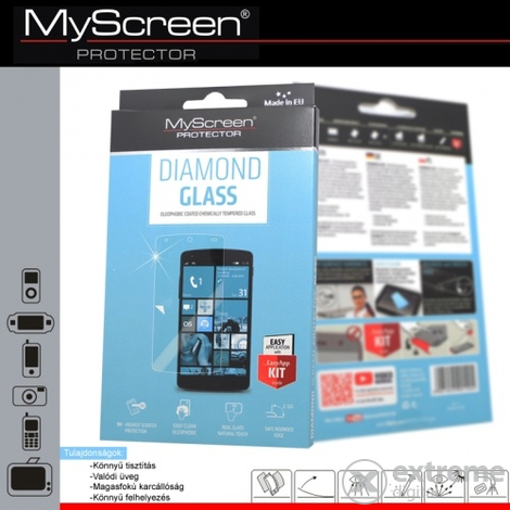 Защитно фолио Myscreen за LG G2 mini (D620) , Diamond glass