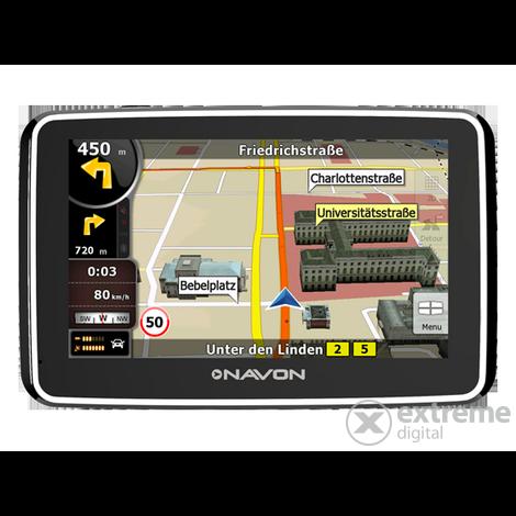igo8 európa térkép letöltés ingyen Navon N490 Plus navigáció + iGO8 Teljes Európa térkép (45 ország  igo8 európa térkép letöltés ingyen