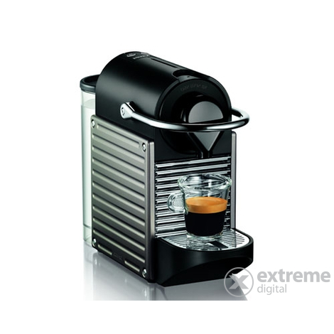 nespresso krups xn3005 pixie aparat za kavu elektro titan extreme digital. Black Bedroom Furniture Sets. Home Design Ideas