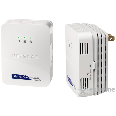 Netgear Powerline XAVB5001-100PES 500Mbps ethernet adapter kit
