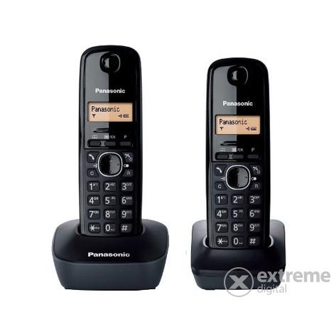 Телефон DECT Panasonic KX-TGB210RUF АОН Caller ID 50 Эко-режим Память 50