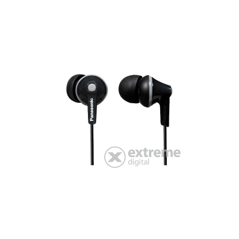 Слушалки in-ear Panasonic RP-HJE125E-K