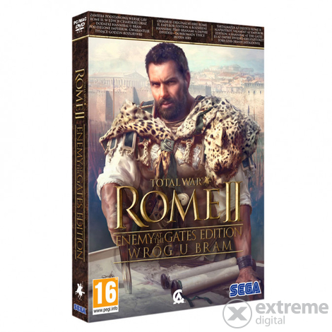 Total War: Rome 2 Enemy at the Gates edition PC játékszoftver