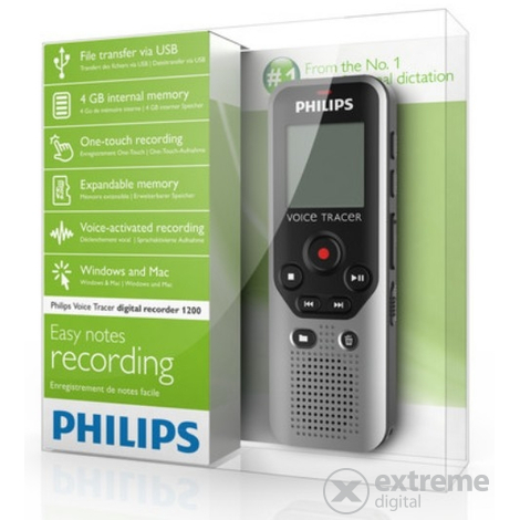 Philips DVT1200 4GB diktafon