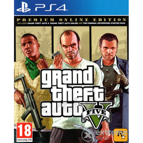 Grand Theft Auto V Premium Edition PS4