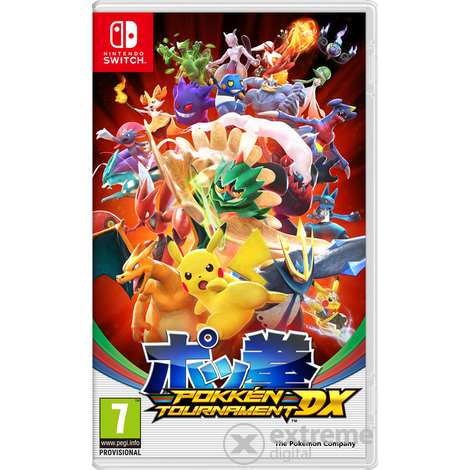 Pokkén Tournament DX Nintendo Switch hra