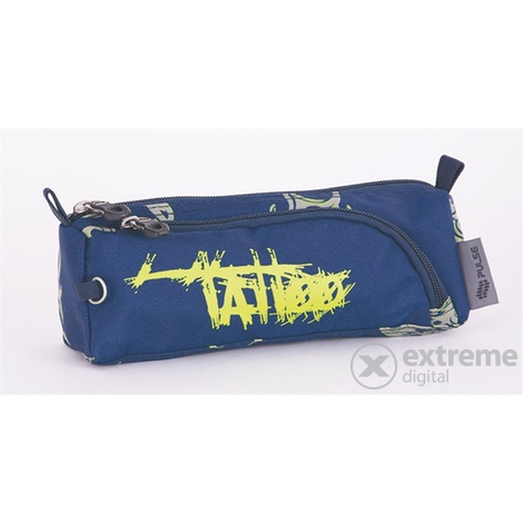 "Pulse ""Cots Blue Tatoo"" peresnica z zadrgo, modro-siva"