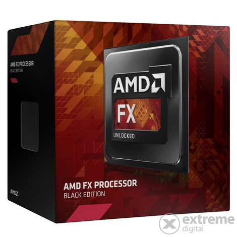 AMD FX-4320 AM3+ Black Edition Box processzor