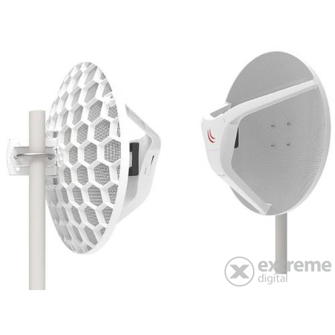MikroTik LHGG-60ad 60GHz 802.11ad Wireless Wire Dish antenna pár