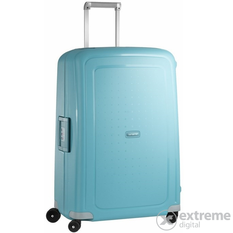 Куфар Samsonite S Cure Spinner 75 cm, светло син