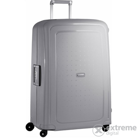 Куфар Samsonite S Cure Spinner 81 cm,сребърен