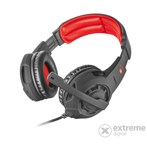 Trust GXT 310 Radius gamer mikrofonos fejhallgató  8b6de5c1fa