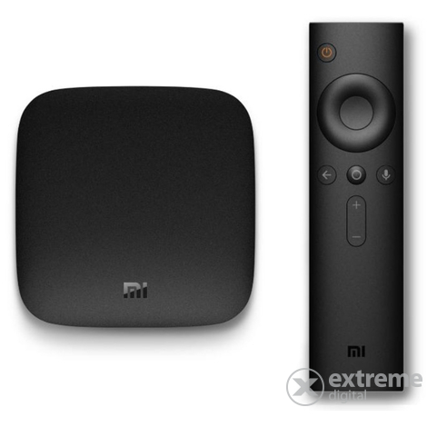 Xiaomi Mi Box 3 4K Android smart set top box, médialejátszó