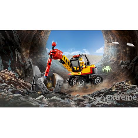 LEGO® City 60185 Bányászati hasítógép
