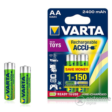 Varta Toy AA ceruza 2400mAh Ready2Use akku, 2db