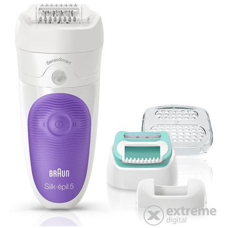 Braun SES 5 880 Silk-épil 5 SensoSmart Wet Dry epilátor szett ... 2cd54ce06e