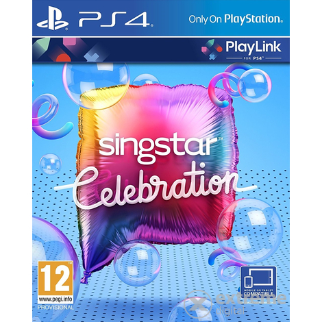 SingStar Celebration PS4 játék