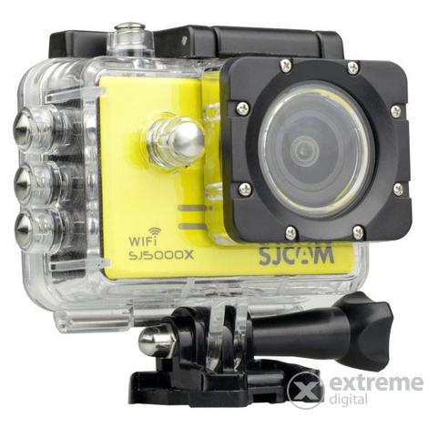 SJCAM SJ 5000X Elite Sportkamera Vizallo Tokkal Sarga