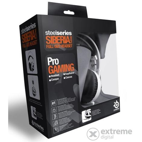 SteelSeries SIBERIA V2 mikrofonos gamer fejhallgató 422f35c4ec