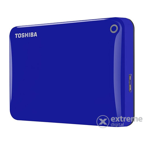 "Toshiba Canvio Connect II 2.5"" 500GB vanjski HDD, plava"