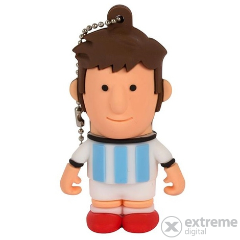 "Флаш памет Tribe ""FIFA"" Messi, Argentína 8GB USB2.0"