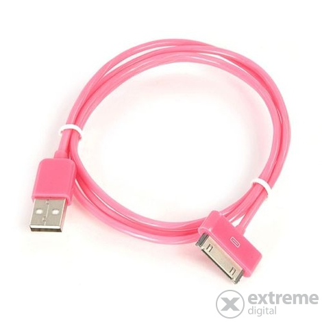 Tucano Sync a nabíjací USB-kábel Apple iPhone/iPad/iPod, pink