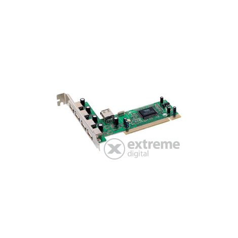 USB 2.0 card 4+1 port PCI
