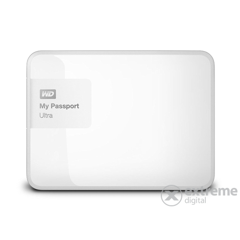 "Външен хард диск  WD My Passport Ultra 2TB 2,5"" бял, Brilliant White WDBBKD0020BWT-EESN"