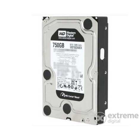 "HDD Western Digital 750GB 3,5"" WD7502AAEX, negru"