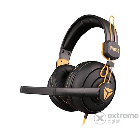 Headset mikrofonos fej fülhallgató Fejhallgató