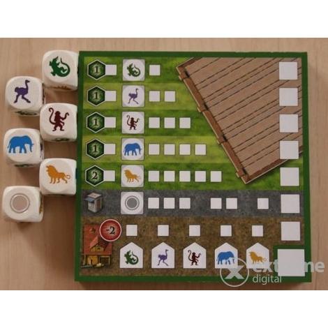 Zooloretto kockajáték társasjáték