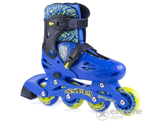 Spokey Buddy állítható gyerek görkorcsolya, kék, 34-37