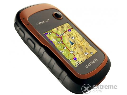 Garmin eTrex 20x szabadidős túranavigáció