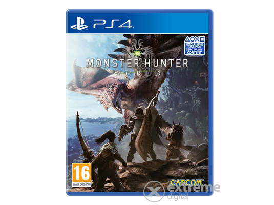 Monster Hunter: World  PS4 játékszoftver - [Bontott]