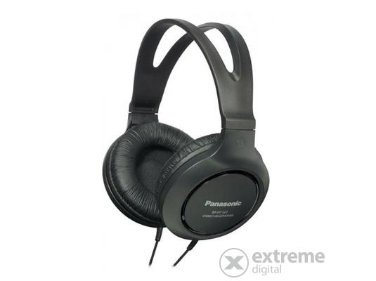 Panasonic RP-HT161E-K fejhallgató, fekete