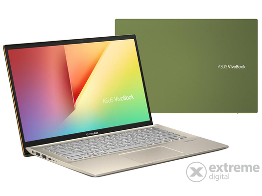 Asus VivoBook S431FL-AM256T notebook, zöld + Windows10