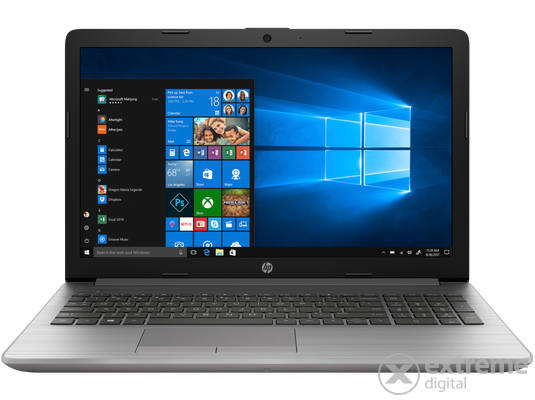 HP 250 G7 6EC27EA#AKC FHD notebook, ezüst +Windows 10 Home