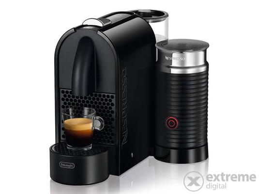 Nespresso-Delonghi EN210.BAE U&Milk kapszulás kávéfőző fekete + 15000 Ft értékű Nespresso kávékapszula-utalvány*N