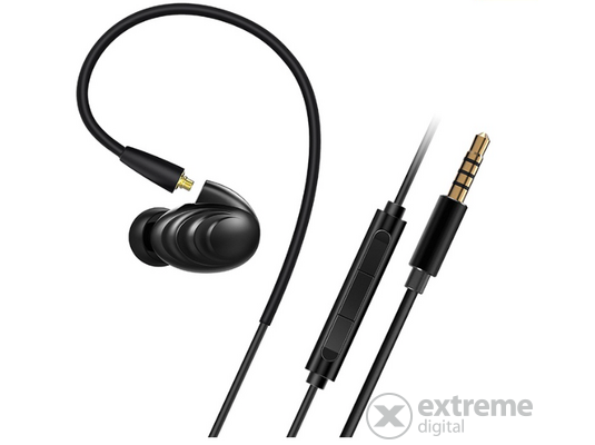 RHA T20i In-Ear fülhallgató headset Black Edition Fekete  ca4e78a200