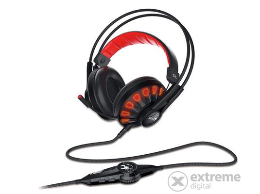 Genius HS-G680 7.1 gamer mikrofonos fejhallgató 3aa271c083