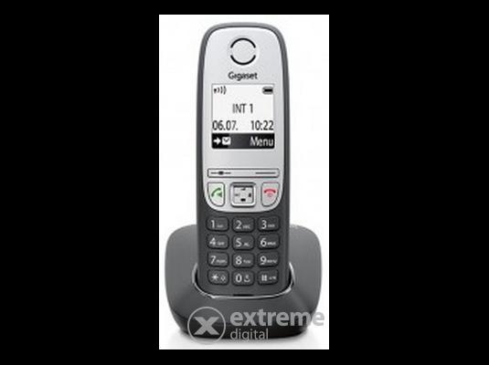 Gigaset A415 vezeték nélküli (DECT) telefon, fekete-ezüst