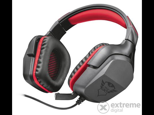 Trust GXT 353 Verus Bass Vibration mikrofonos fejhallgató  52e45dba22