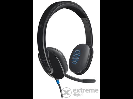 Logitech Headset H540 USB mikrofonos fejhallgató (981-000480) 63906dbf4c