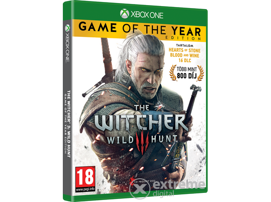 The Witcher III: Wild Hunt Game Of The Year Edition Xbox One játék