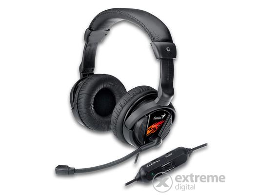 Genius HS-G500V gamer mikrofonos fejhallgató 14e7c90a62
