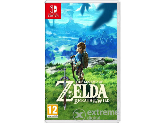 The Legend of Zelda: Breath of the Wild Nintendo Switch játék