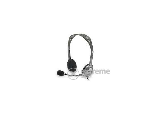 Logitech H110 mikrofonos fejhallgató (981-000271) 897cdc55d1