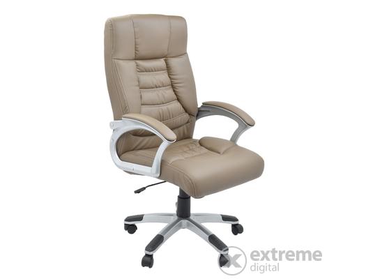 Kring Ergo ergonomikus irodai forgószék, műbőr, fekete