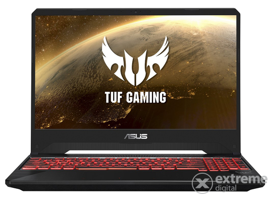 Asus TUF Gaming FX505GM-ES025 notebook, fekete