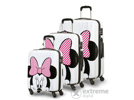 American Tourister Hypertwist Minnie Stripes Disney bőrönd szett, 3db